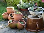 Keramik im Garten