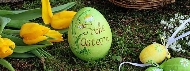 Osterdeko im garten garten blog von garten und - Osterdeko garten ...