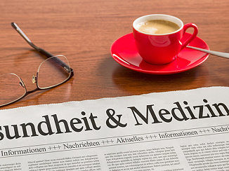 Zeitung zum Thema Gesundheit