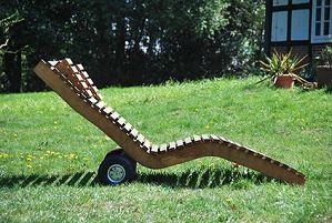 Gartenliege holz geschwungen  Gartenliegen - Liegekomfort, Design und weitere Kaufkriterien