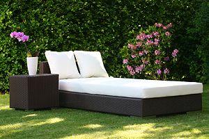 Gartenliege 2 personen holz  Gartenliegen - Liegekomfort, Design und weitere Kaufkriterien