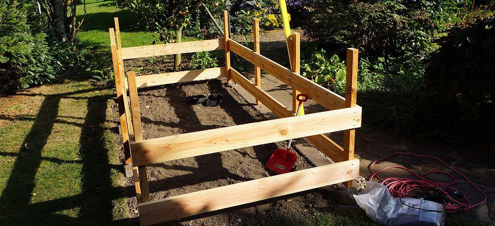 Hochbeet Selber Bauen Aus Paletten Holzplanken